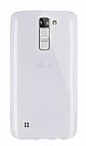 Dafoni Aircraft LG K7 Ultra İnce Şeffaf Silikon Kılıf