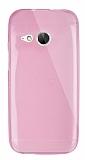 Dafoni Aircraft HTC One mini 2 Ultra �nce �effaf Pembe Silikon K�l�f