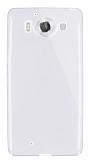 Dafoni Aircraft Microsoft Lumia 950 Ultra İnce Şeffaf Silikon Kılıf