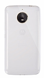 Dafoni Aircraft Motorola Moto E4 Plus Ultra İnce Şeffaf Silikon Kılıf