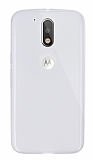 Dafoni Aircraft Motorola Moto G4 / G4 Plus Ultra İnce Şeffaf Silikon Kılıf