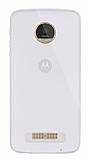 Dafoni Aircraft Motorola Moto Z Play Ultra İnce Şeffaf Silikon Kılıf