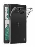 Dafoni Aircraft Nokia 1 Plus Ultra İnce Şeffaf Silikon Kılıf