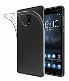 Dafoni Aircraft Nokia 8 Ultra İnce Şeffaf Silikon Kılıf