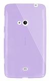 Dafoni Aircraft Nokia Lumia 625 Ultra �nce �effaf Mor Silikon K�l�f