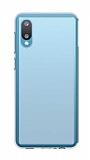 Dafoni Aircraft Samsung Galaxy A02 Ultra İnce Şeffaf Silikon Kılıf