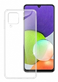 Dafoni Aircraft Samsung Galaxy A22 4G Ultra İnce Şeffaf Silikon Kılıf