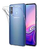 Dafoni Aircraft Samsung Galaxy A40 Ultra İnce Şeffaf Silikon Kılıf