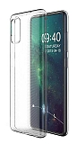 Dafoni Aircraft Samsung Galaxy A51 Ultra İnce Şeffaf Silikon Kılıf