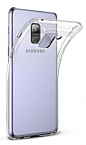 Dafoni Aircraft Samsung Galaxy A6 Plus 2018 Ultra İnce Şeffaf Silikon Kılıf