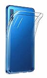 Dafoni Aircraft Samsung Galaxy A7 2018 Ultra İnce Şeffaf Silikon Kılıf