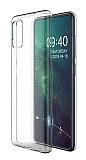 Dafoni Aircraft Samsung Galaxy A71 Ultra İnce Şeffaf Silikon Kılıf