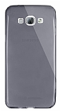 Dafoni Aircraft Samsung Galaxy A8 Ultra İnce Şeffaf Siyah Silikon Kılıf