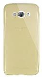 Dafoni Aircraft Samsung Galaxy A8 Ultra �nce �effaf Gold Silikon K�l�f
