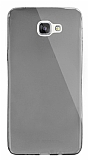 Dafoni Aircraft Samsung Galaxy A9 Ultra İnce Şeffaf Siyah Silikon Kılıf
