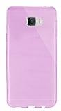 Dafoni Aircraft Samsung Galaxy C7 SM-C7000 Ultra �nce �effaf Pembe Silikon K�l�f
