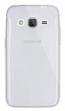 Dafoni Aircraft Samsung Galaxy Core Prime İnce Şeffaf Silikon Kılıf