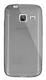 Dafoni Aircraft Samsung Galaxy J1 mini Ultra İnce Şeffaf Siyah Silikon Kılıf