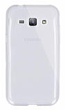 Dafoni Aircraft Samsung Galaxy J1 Ultra İnce Şeffaf Silikon Kılıf