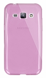 Dafoni Aircraft Samsung Galaxy J1 Ultra �nce �effaf Pembe Silikon K�l�f