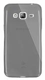 Dafoni Aircraft Samsung Galaxy J3 2016 Ultra İnce Şeffaf Siyah Silikon Kılıf