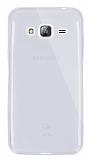 Dafoni Aircraft Samsung Galaxy J3 2016 Ultra İnce Şeffaf Silikon Kılıf