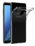 Dafoni Aircraft Samsung Galaxy J4 Ultra İnce Şeffaf Silikon Kılıf