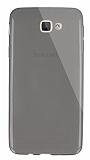 Dafoni Aircraft Samsung Galaxy J5 Prime Ultra İnce Şeffaf Siyah Silikon Kılıf