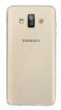 Dafoni Aircraft Samsung Galaxy J7 Duo Ultra İnce Şeffaf Silikon Kılıf