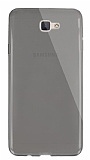Dafoni Aircraft Samsung Galaxy J7 Prime Ultra İnce Şeffaf Siyah Silikon Kılıf