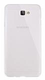 Dafoni Aircraft Samsung Galaxy J7 Prime Ultra İnce Şeffaf Silikon Kılıf
