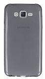 Samsung Galaxy J7 / Galaxy J7 Core Ultra İnce Şeffaf Siyah Silikon Kılıf