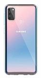 Dafoni Aircraft Samsung Galaxy M30S Ultra İnce Şeffaf Silikon Kılıf