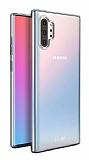 Dafoni Aircraft Samsung Galaxy Note 10 Plus Ultra İnce Şeffaf Silikon Kılıf