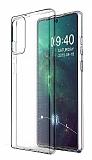 Dafoni Aircraft Samsung Galaxy Note 20 İnce Şeffaf Silikon Kılıf
