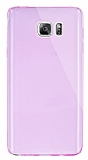 Dafoni Aircraft Samsung Galaxy Note 5 Ultra �nce �effaf Pembe Silikon K�l�f