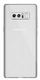 Dafoni Aircraft Samsung Galaxy Note 8 Ultra İnce Şeffaf Silikon Kılıf