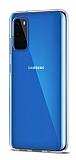 Dafoni Aircraft Samsung Galaxy S20 Şeffaf İnce Silikon Kılıf