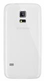 Dafoni Aircraft Samsung Galaxy S5 mini Ultra İnce Şeffaf Silikon Kılıf