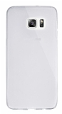 Dafoni Aircraft Samsung Galaxy S6 Edge Plus Ultra İnce Şeffaf Silikon Kılıf