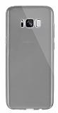 Dafoni Aircraft Samsung Galaxy S8 Plus Ultra İnce Şeffaf Siyah Silikon Kılıf