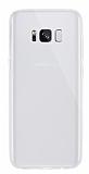 Dafoni Aircraft Samsung Galaxy S8 Plus Ultra İnce Şeffaf Silikon Kılıf
