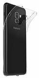 Dafoni Aircraft Samsung Galaxy S9 Ultra İnce Şeffaf Silikon Kılıf