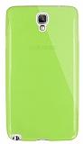 Dafoni Aircraft Samsung N7500 Galaxy Note 3 Neo Ultra İnce Şeffaf Yeşil Silikon Kılıf