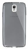 Dafoni Aircraft Samsung N7500 Galaxy Note 3 Neo Ultra İnce Şeffaf Siyah Silikon Kılıf
