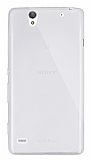 Dafoni Aircraft Sony Xperia C4 Ultra İnce Şeffaf Silikon Kılıf