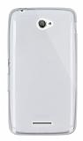 Dafoni Aircraft Sony Xperia E4 Ultra İnce Şeffaf Silikon Kılıf