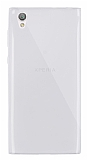 Dafoni Aircraft Sony Xperia L1 Ultra İnce Şeffaf Silikon Kılıf