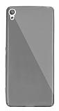 Dafoni Aircraft Sony Xperia X Ultra İnce Şeffaf Siyah Silikon Kılıf