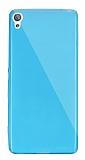 Dafoni Aircraft Sony Xperia X Ultra İnce Şeffaf Mavi Silikon Kılıf